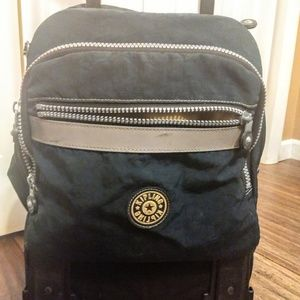 Kipling rolling backpack